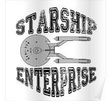 Star Trek - Enterprise NX-01 Logo Poster