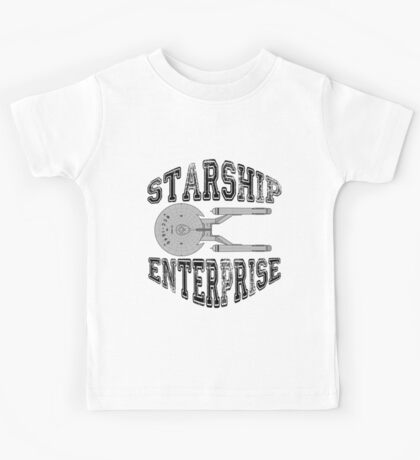 Star Trek - Enterprise NX-01 Logo Kids Tee