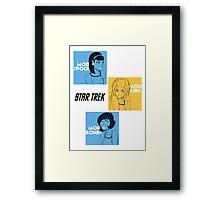 Star Trek Mod Framed Print