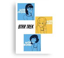 Star Trek Mod Canvas Print