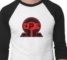 OmegaOps Company Logo Men's Baseball ¾ T-Shirt