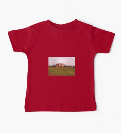 Farm shed  by Liz H Lovell Baby Tee