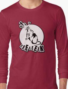 Grasshopper Mouse Eeek Design Long Sleeve T-Shirt