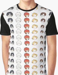 Mystic Messenger Icons Graphic T-Shirt