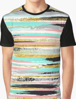 Color lines Graphic T-Shirt