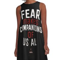 Fear- Doctor Who A-Line Dress