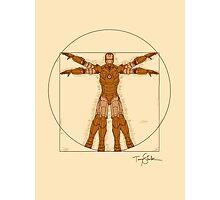 Vitruvian Iron! Photographic Print