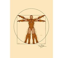 Vitruvian Iron! Photographic Print