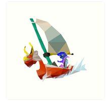 Sailing Around the World Art Print