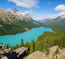 Peyto Lake by lkamansky
