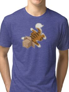 "Cat - ""Cat Box"" Tri-blend T-Shirt"