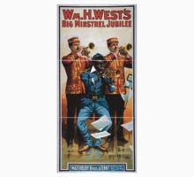 Performing Arts Posters Wm H Wests Big Minstrel Jubilee 1870 One Piece - Short Sleeve