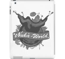 Nuka World - Old Fashioned black and white - Fallout 4 iPad Case/Skin