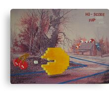 8 Bit Landscape Canvas Print
