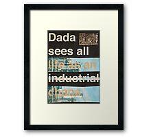 DÄDÂ Framed Print