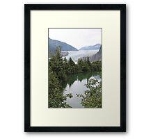 Glacier Time Framed Print