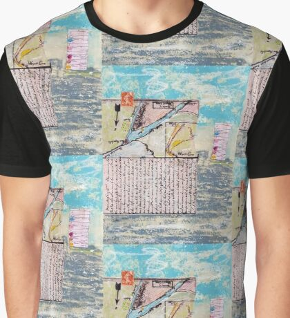 Field Journal From the Civil War Collage Graphic T-Shirt