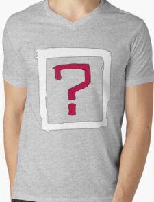 Where Is the Love Mens V-Neck T-Shirt