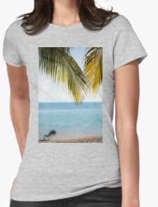 Afternoon in Paradise Womens Fitted T-Shirt