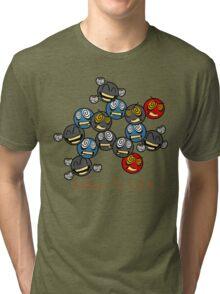 Caffeine (C8 H10 N4 O2) Tri-blend T-Shirt