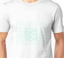 Simple bow bow bow Unisex T-Shirt
