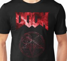 Doom Minimalist Nebula Design Unisex T-Shirt