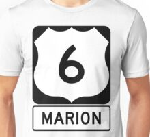 US 6 - Marion Massachusetts Unisex T-Shirt