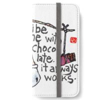 Bribe Me With Chocolate iPhone Wallet/Case/Skin