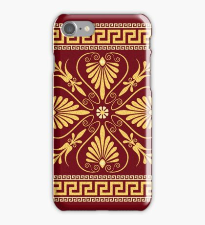 Greek ornament (Meander) iPhone Case/Skin