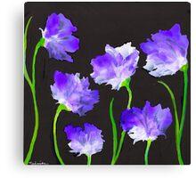 """""""Purple Iris Passion"""" Unique, Original Artist's Design! Canvas Print"""