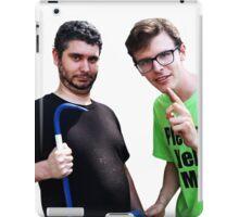 Idubbbz and Ethan Klein of h3h3 iPad Case/Skin