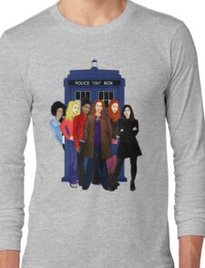 Doctor Who - The Companions Long Sleeve T-Shirt