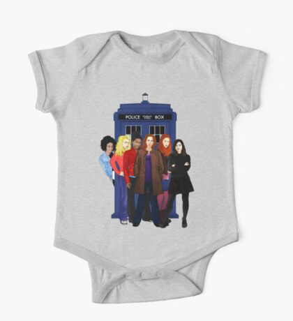 Doctor Who - The Companions One Piece - Short Sleeve