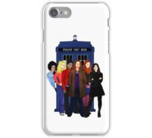 Doctor Who - The Companions iPhone Case/Skin