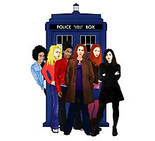 Doctor Who - The Companions Photographic Print