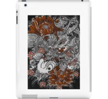 Koi fish and koi dragon iPad Case/Skin