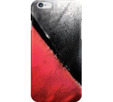 Black vs. Red iPhone Case/Skin