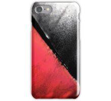 Black vs. Red iPhone Case/Skin