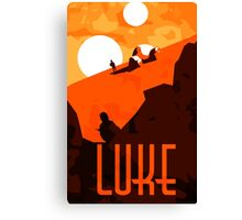 Luke - Son of the Chosen One Canvas Print