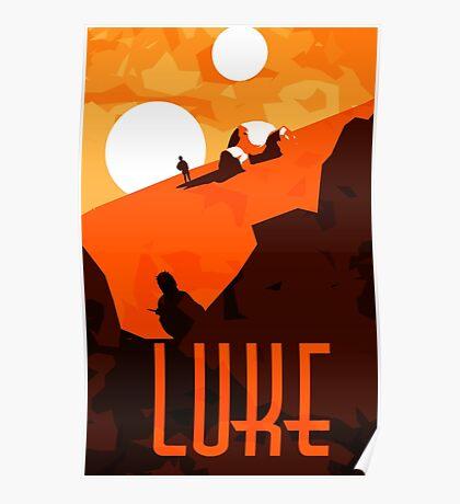 Luke - Son of the Chosen One Poster