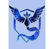Blue Team Photographic Print