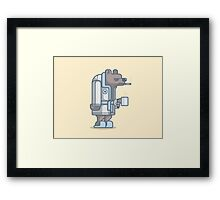 Grumpy Bear Framed Print