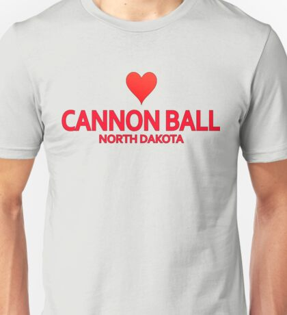 Cannon Ball North Dakota Unisex T-Shirt