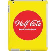 Wolf Cola iPad Case/Skin