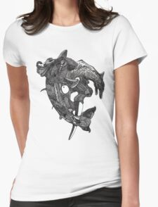 Elephant Fish Womens Fitted T-Shirt