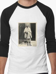 Gandhi In Timbs Men's Baseball ¾ T-Shirt