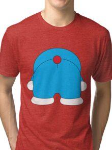 Bottom Doraemon Tri-blend T-Shirt