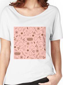 Robin Egg Pink Women's Relaxed Fit T-Shirt