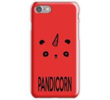 I Am PandiCorn iPhone Case/Skin