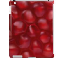Pomegranate texture iPad Case/Skin